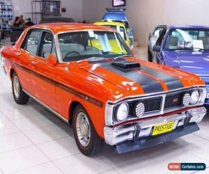 Classic 1971 Ford Falcon XY GT Vermillion Red Manual 4sp M Sedan for Sale