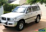 Classic 2001 Toyota Landcruiser FZJ105R GXL White Automatic 4sp A Wagon for Sale