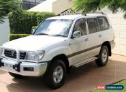 2001 Toyota Landcruiser FZJ105R GXL White Automatic 4sp A Wagon for Sale