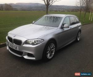 Classic 2012 BMW 530D M SPORT AUTO TOURING SILVER DAMAGED REPAIRED 5 SERIES ESTATE for Sale