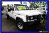 Classic 2000 Toyota Landcruiser HZJ79R (4x4) White Manual 5sp M Cab Chassis for Sale