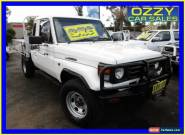 2000 Toyota Landcruiser HZJ79R (4x4) White Manual 5sp M Cab Chassis for Sale