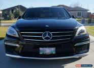 Mercedes-Benz : M-Class ML63 AMG 4MATIC DESIGNO 4DR for Sale