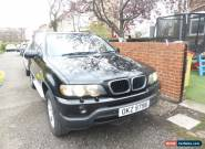 Black BMW X5 3.0 Diesel 2002 private plate worth ??400 included  for Sale