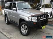 2005 Nissan Patrol GU IV TI (4x4) Grey Automatic 5sp A Wagon for Sale