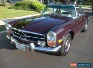 1971 Mercedes-Benz SL-Class CONVERTIBLE for Sale