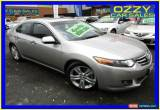 Classic 2008 Honda Accord 10 Euro Luxury Silver Automatic 5sp A Sedan for Sale