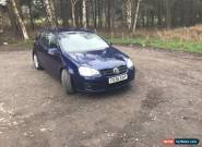 2006 (56 REG) VOLKSWAGEN GOLF GT PDF TDI BLUE GENUINE 98000 MILES for Sale