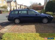 Ford Zetec estate 04 plate for Sale