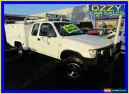 1998 Toyota Hilux RZN174R (4x4) White Manual 5sp M Extracab for Sale