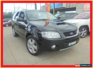 2007 Ford Territory SY Turbo Ghia Black Automatic A Wagon for Sale