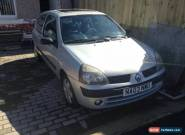 2003 RENAULT CLIO EXPRESSION 16V SILVER for Sale