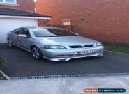 Vauxhall Astra Coupe 16V 1.8l Petrol 2004 Silver 2dr for Sale