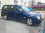 2004 VAUXHALL VECTRA LS 16V BLUE for Sale