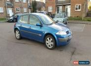 2004 RENAULT MEGANE DYNAMIQUE 16V BLUE for Sale