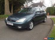 2003 Ford Focus 1.6 Zetec 5 Door Manual  for Sale