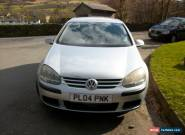 VW GOLF S 2004 1.4 PETROL MANUAL SILVER for Sale