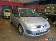 2005 Renault Scenic II J84 Authentique Silver Automatic 4sp A Hatchback for Sale