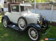 1929 Ford Model A Sport coupe for Sale