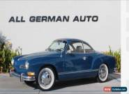 1972 VW Karmann Ghia Coupe for Sale