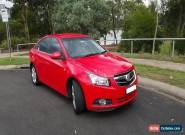 Holden Cruze CDX (2009) 4D Sedan Automatic (1.8L - Multi Point F/INJ) 5 Seats for Sale