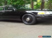 2009 Ford Crown Victoria Police Interceptor for Sale