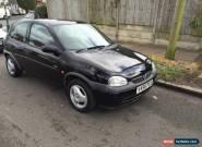2000 VAUXHALL CORSA SXI 16V BLACK 1.2 for Sale