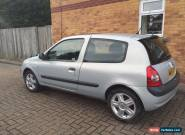 renault clio 1.2 2004 silver 78k full m.o.t.  for Sale