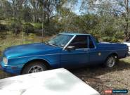 1987 XF Ford Falcon Ute 4.1L Blue for Sale