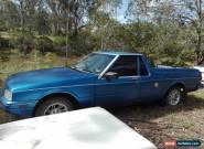 1987 XF Ford Falcon Ute 4.1L Blue for Sale