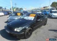 2001 Mercedes-Benz C320 W203 Elegance Black Automatic 5sp A Sedan for Sale