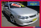 Classic 2005 Ford Falcon BA MkII XR6T Silver Automatic 4sp A Sedan for Sale