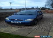 2002 VAUXHALL ASTRA LS DTI BLUE for Sale