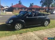 2009 Volkswagen convertable  Beetle 1Y Auto MY10 for Sale