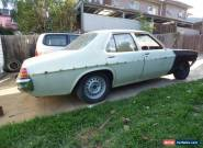 holden Hj body for kingswood to monaro gts for Sale