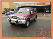 2001 Mitsubishi Pajero NM Exceed LWB (4x4) Maroon Automatic 5sp A Wagon for Sale