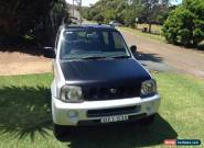 Suzuki Jimny JLX (4x4) (2004) 2D Wagon Manual (1.3L - Multi Point F/INJ) 4 Seats for Sale