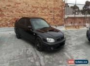 Subaru Liberty B4 (2002) 4D Sedan Manual (2L - Twin Turbo MPFI) 5 Seats for Sale