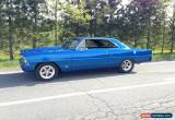 Classic Chevrolet: Nova SS for Sale