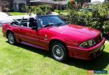 Classic 1988 Ford GT H0 Mustang Convertible  for Sale