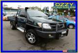 Classic 2005 Toyota Hilux KUN26R SR (4x4) Green Manual 5sp M Cab Chassis for Sale