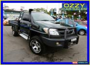 2005 Toyota Hilux KUN26R SR (4x4) Green Manual 5sp M Cab Chassis for Sale