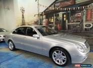 2005 Mercedes-Benz E500 W211 MY04 Elegance Zircon Silver Automatic 7sp A Sedan for Sale