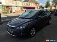 FORD FOCUS ZETEC 3 DOOR 1.6 AUTO 2009 GREY FULLY LOADED *NO RESERVE AUCTION*  for Sale