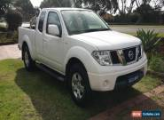 2013  D40 Nissan Navara ST-X  king cab 1 owner 39,000k's with log books for Sale