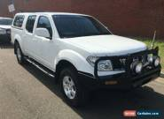2010 Nissan Navara D40 ST (4x4) White Automatic 5sp A Dual Cab Pick-up for Sale