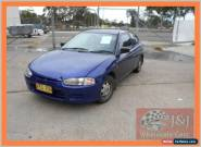 1998 Mitsubishi Mirage CE Blue Automatic 4sp A Hatchback for Sale