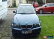 BMW 320i 2.2 SE 2002 Blue for Sale