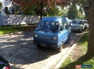 1985 suzuki carry van mini van for Sale