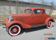 1933 Ford 5W coupe for Sale